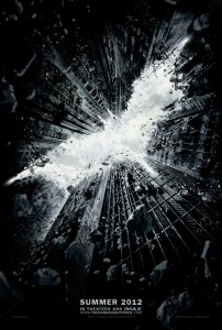 The Dark Knight Rises Poster. © Warner Bros. Ent. All rights reserved.